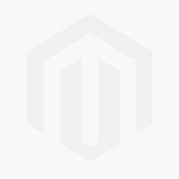 White Crew Socks with Postal Blue Stripes